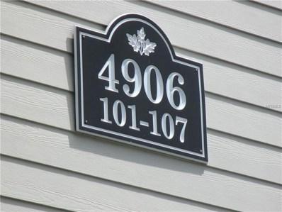 4906 25TH Street W UNIT 105, Bradenton, FL 34207 - #: A4431879