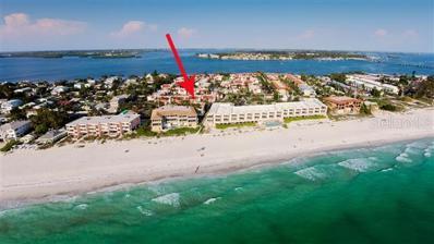 1801 N Gulf Drive N UNIT 206, Bradenton Beach, FL 34217 - #: A4433827