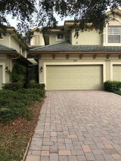 6434 Moorings Point Circle UNIT 102, Lakewood Ranch, FL 34202 - MLS#: A4435550