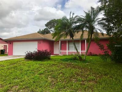 4410 Targee Avenue, North Port, FL 34287 - MLS#: C7240706