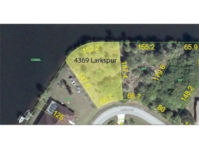 4369 Larkspur Court, Port Charlotte, FL 33948 - MLS#: C7242680