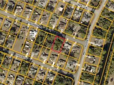Suburban Lane, North Port, FL 34287 - MLS#: C7243034