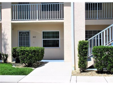 12144 Sw Egret Circle UNIT 403, Lake Suzy, FL 34269 - MLS#: C7243370