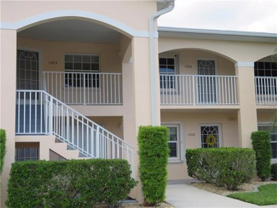12144 Egret Circle UNIT 1206, Lake Suzy, FL 34269 - MLS#: C7244052