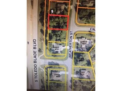Weatherton Street, North Port, FL 34288 - MLS#: C7244982
