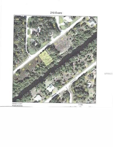 210 Evaro Drive, Port Charlotte, FL 33954 - MLS#: C7246001