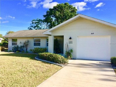 849 Fairfax Terrace NW, Port Charlotte, FL 33948 - MLS#: C7246913