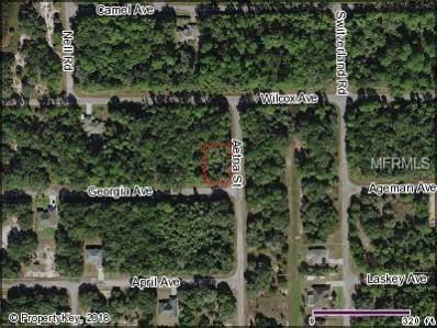 Aetna Street, North Port, FL 34288 - MLS#: C7248009