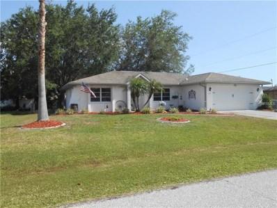 849 Dobell Terrace NW, Port Charlotte, FL 33948 - MLS#: C7400155
