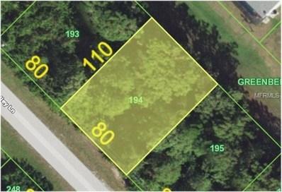 55 Pine Valley Lane, Rotonda West, FL 33947 - MLS#: C7400758
