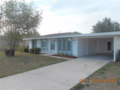 20291 Gentry Avenue, Port Charlotte, FL 33952 - MLS#: C7401300