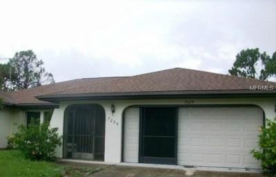 7029 Sea Mist Drive, Port Charlotte, FL 33981 - MLS#: C7402748