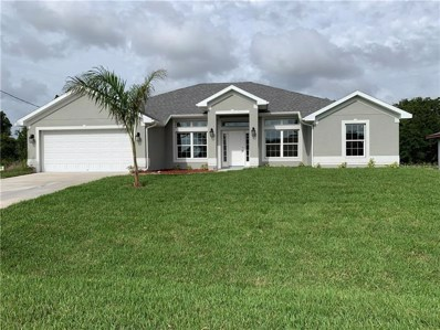 161 Mark Twain Lane, Rotonda West, FL 33947 - MLS#: C7414585