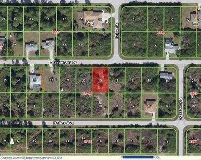 12039 Claremont Drive, Port Charlotte, FL 33981 - MLS#: D5902680