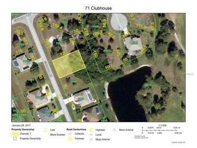 71 Clubhouse Road, Rotonda West, FL 33947 - MLS#: D5916550