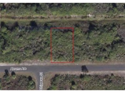 12044 Abrams Avenue, Port Charlotte, FL 33981 - MLS#: D5917688