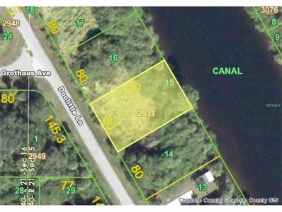 2178 Doolittle (Lot 15) Lane, Port Charlotte, FL 33953 - MLS#: D5918235