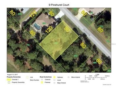 9 Pinehurst Court, Rotonda West, FL 33947 - MLS#: D5919880