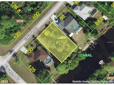 1108 Eppinger (Lot 2) Drive, Port Charlotte, FL 33953 - MLS#: D5920668
