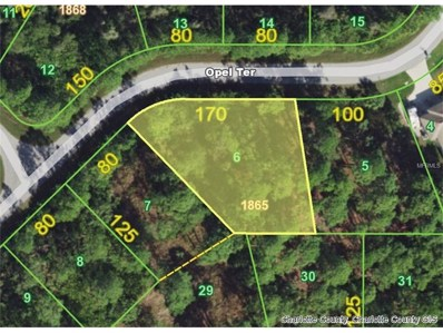 4510 Opel (Lot 6) Terrace, Port Charlotte, FL 33981 - MLS#: D5921202