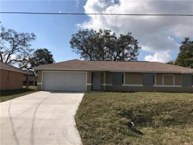 3601 Nashville Road, North Port, FL 34288 - MLS#: D5922212