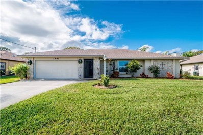 160 Bunker Road, Rotonda West, FL 33947 - MLS#: D5922355