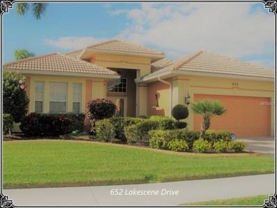 652 Lakescene Drive, Venice, FL 34293 - MLS#: D5923175
