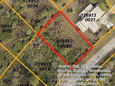 Desoto Drive, North Port, FL 34287 - MLS#: D5923212