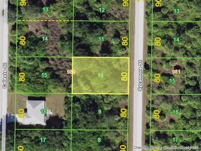 413 Sycamore (Lot 10) Street, Port Charlotte, FL 33954 - MLS#: D5923913