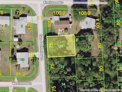 214 Tam O Shanter (Lot 36) Lane, Punta Gorda, FL 33982 - MLS#: D6100636