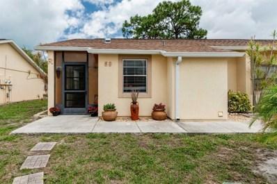 6796 Gasparilla Pines Boulevard UNIT 59, Englewood, FL 34224 - MLS#: D6100677