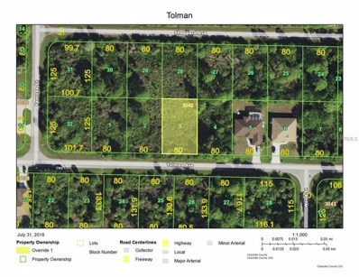 13412 Tolman Avenue, Port Charlotte, FL 33953 - MLS#: D6101699