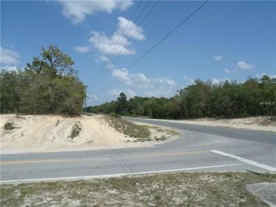 Ne Corner Centralia Rd & Lelani Drive, Weeki Wachee, FL 34614 - MLS#: E2400265