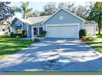 519 Chula Vista Avenue, Lady Lake, FL 32159 - MLS#: G4836876