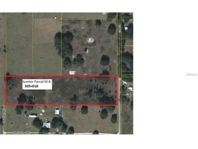 Cr 738, Webster, FL 33597 - MLS#: G4844036
