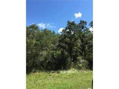 34330 Berryhill Drive, Webster, FL 33597 - MLS#: G4846245