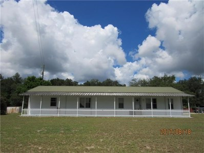 1574 W Cr 478-A Road, Webster, FL 33597 - MLS#: G4846365