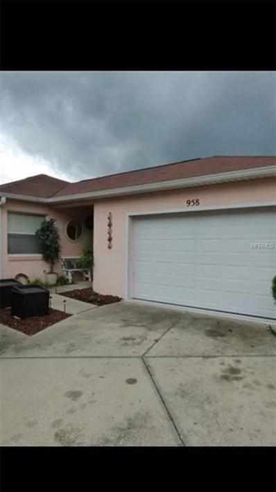 958 Avalon Avenue, Lady Lake, FL 32159 - MLS#: G4850933
