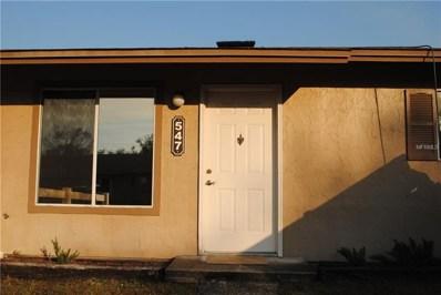 547 E Rosewood Lane UNIT 547, Tavares, FL 32778 - MLS#: G4851834