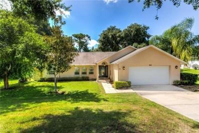 742 Woodview Drive, Tavares, FL 32778 - MLS#: G5004839