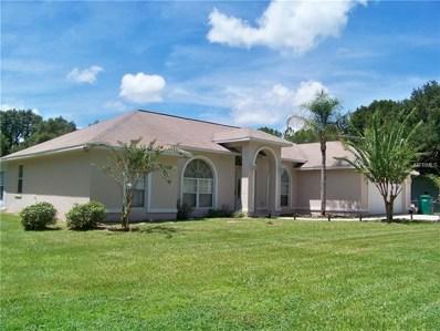 1205 Pine Ridge Dairy Rd, Fruitland Park, FL 34731 - MLS#: G5004862