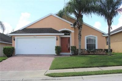 442 Vizcay Way, Davenport, FL 33837 - MLS#: G5005235