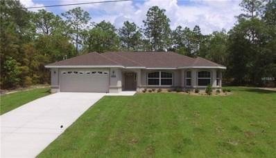 8961 N Lansen Way, Citrus Springs, FL 34433 - MLS#: G5006070