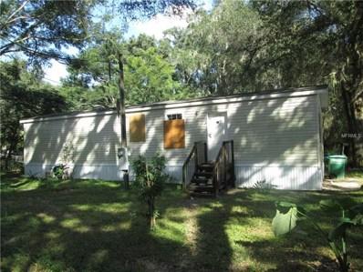 811 NW 3RD Street, Webster, FL 33597 - MLS#: G5008847