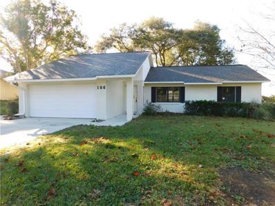 106 Hillside Drive, Eustis, FL 32726 - MLS#: G5011417