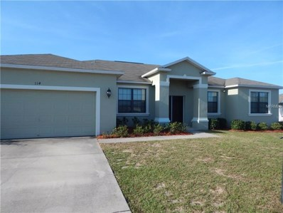 114 Dinner Lake Avenue, Lake Wales, FL 33859 - MLS#: K4900016