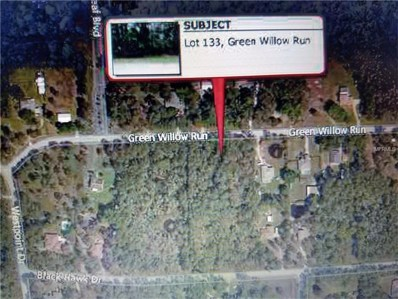 Lot 133 Green Willow Run, Wesley Chapel, FL 33544 - MLS#: L4724446