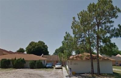 100 Julie Lane UNIT A, Auburndale, FL 33823 - MLS#: L4903629