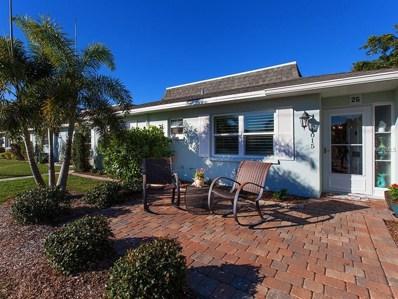 1015 Cooper Street UNIT 25, Venice, FL 34285 - MLS#: N5915818