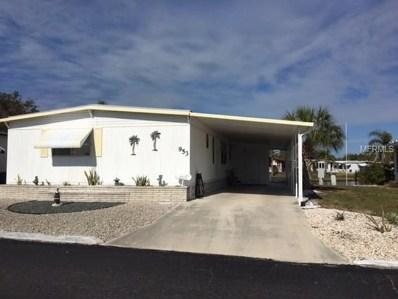 953 Cortina Boulevard, Venice, FL 34285 - MLS#: N5916337